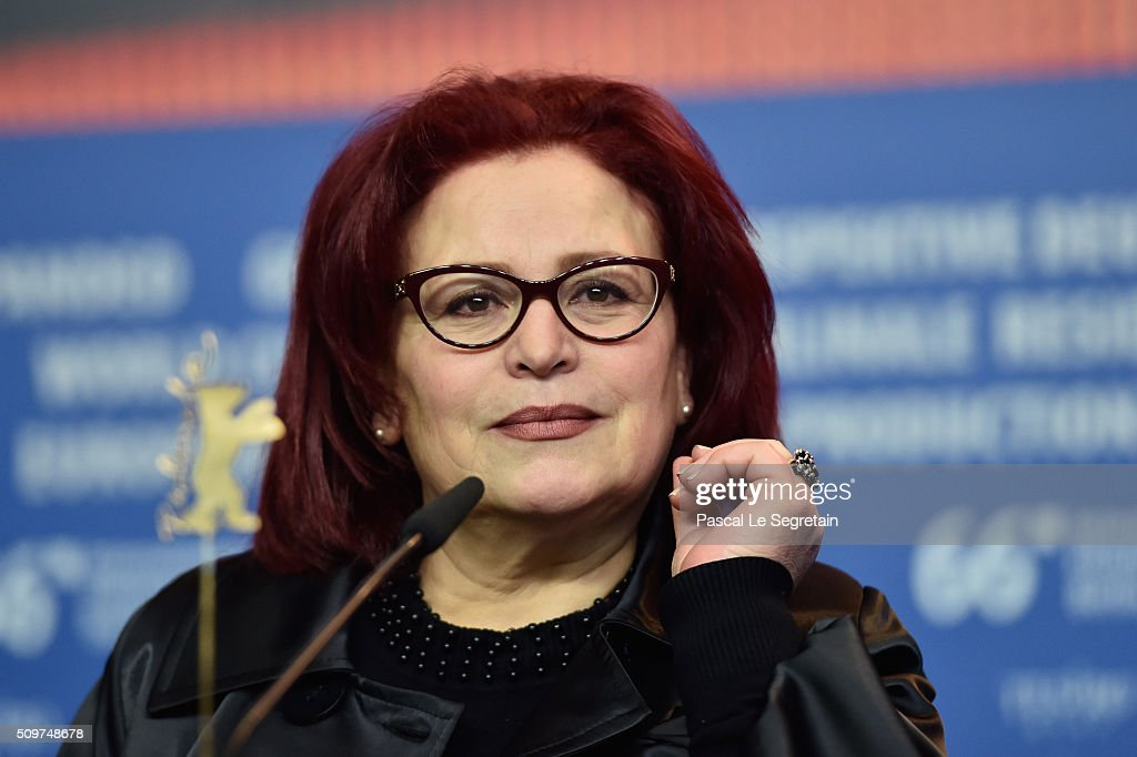 Actress Sabah Bouzouita attends the 'Inhebbek Hedi' press conference during the 66th Berlinale International Film Festival Berlin at Grand Hyatt Hotel on February 12, 2016 in Berlin, Germany.
