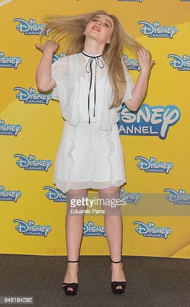 Actress Sabrina Carpenter attends the 'Canguros en apuros' photocall at ME hotel on July 6 2016 in Madrid Spain