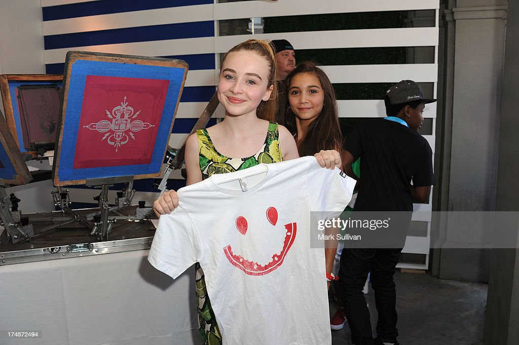 Actress Sabrina Carpenter attends Variety's Power of Youth presented by Hasbro, Inc. and generationOn at Universal Studios Backlot on July 27, 2013 in Universal City, California.