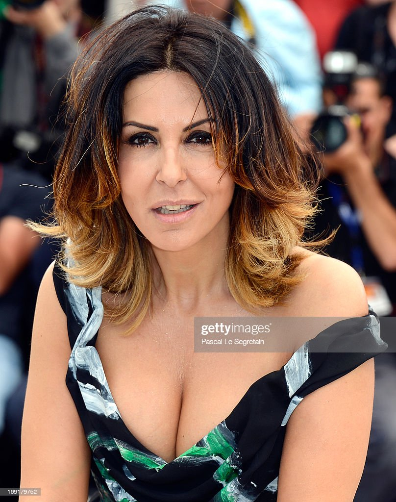 Actress Sabrina Ferilli attends the 'La Grande Bellezza' Photocall during The 66th Annual Cannes Film Festival at the Palais des Festivals on May 21, 2013 in Cannes, France.