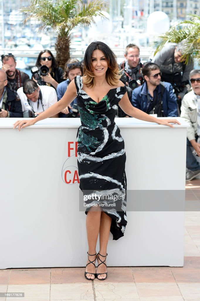 Actress Sabrina Ferilli attends the photocall for 'La Grande Bellezza' (The Great Beauty) during the 66th Annual Cannes Film Festival at Palais des Festivals on May 21, 2013 in Cannes, France.