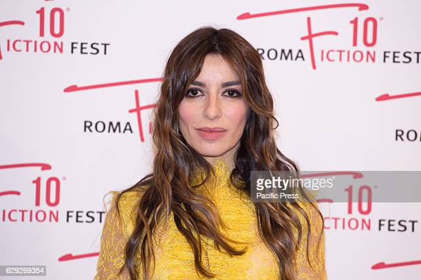 Actress Sabrina Impacciatore arrives on the red carpet for Immaturi La Serie during the 2016 Rome Fiction Fest