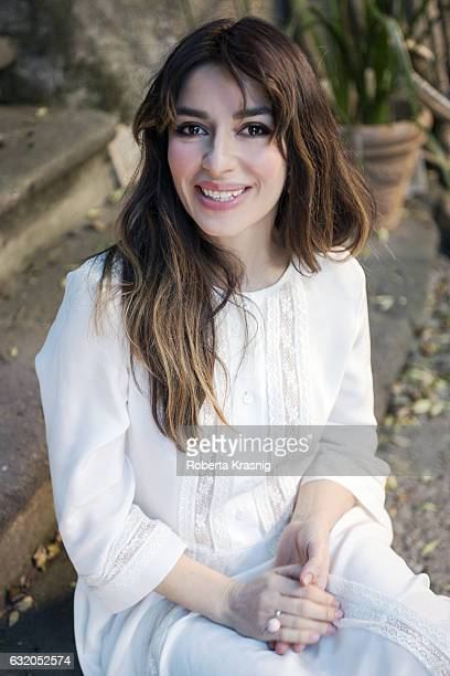 Actress Sabrina Impacciatore is photographed for Self Assignment on February 4 2016 in Rome Italy