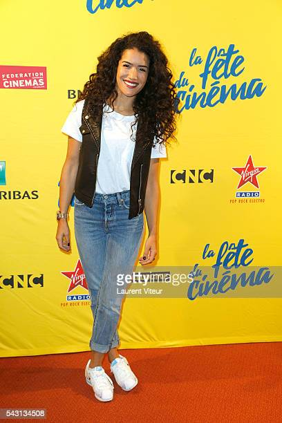 Actress Sabrina Ouazani attends the 32nd 'Fete du Cinema' launch at UGC Cine Cite Bercy on June 26 2016 in Paris France
