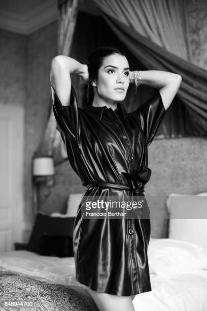 Actress Sabrina Ouazani is photographed on September 6 2017 in Deauville France