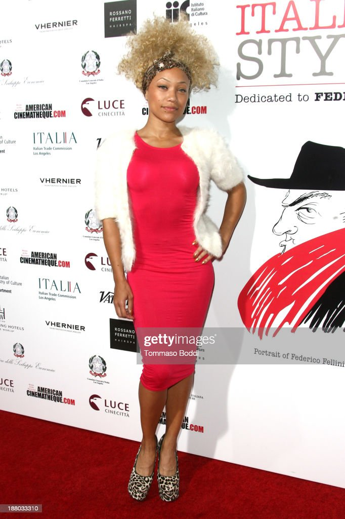 Actress Sacha Chang attends the Luce Cinecitta' and the American Cinematheque in collaboration with AFI FEST present Cinema Italian Style opening night held at the Egyptian Theatre on November 14, 2013 in Hollywood, California.