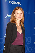 Actress Saffron Burrows arrives to the annual Oceana Partner's Awards Gala honoring former Vice President Al Gore at the home of Jena and Michael...