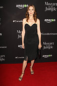 Actress Saffron Burrows attends the 'Mozart In The Jungle' Emmy FYC screening event at Hollywood Roosevelt Hotel on April 21 2016 in Hollywood...