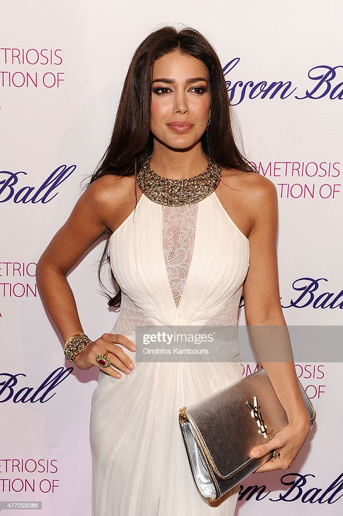 Actress Sahar Biniaz attends the Endometriosis Foundation of America's 6th annual Blossom Ball hosted by Padma Lakshmi and Tamer Seckin, MD at 583 Park Avenue on March 7, 2014 in New York City.