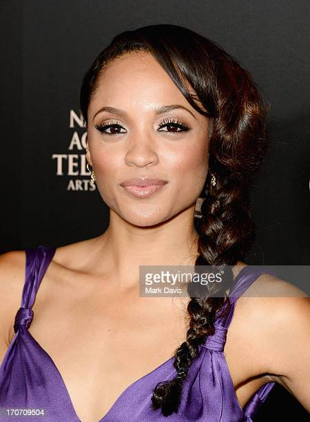 Actress Sal Stowers attends The 40th Annual Daytime Emmy Awards at The Beverly Hilton Hotel on June 16 2013 in Beverly Hills California