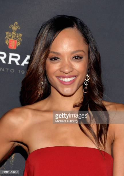Actress Sal Stowers attends the Television Academy's cocktail reception with stars of daytime television celebrating the 69th Emmy Awards at Saban...