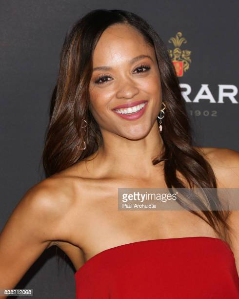 Actress Sal Stowers attends the Television Academy's cocktail reception with the Stars of Daytime Television celebrating The 69th Emmy Awards at...