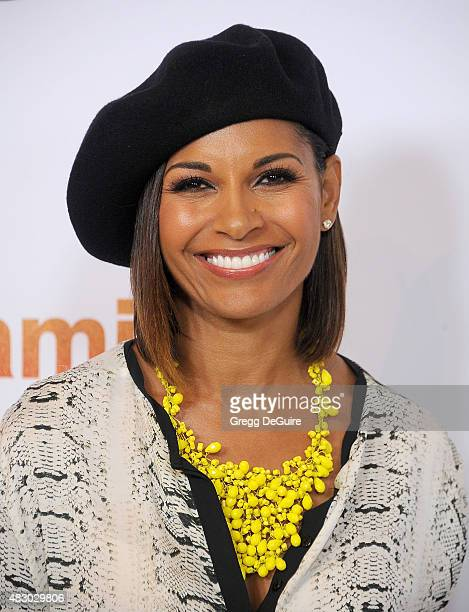Actress Salli Richardson arrives at the Disney ABC Television Group's 2015 TCA Summer Press Tour on August 4 2015 in Beverly Hills California