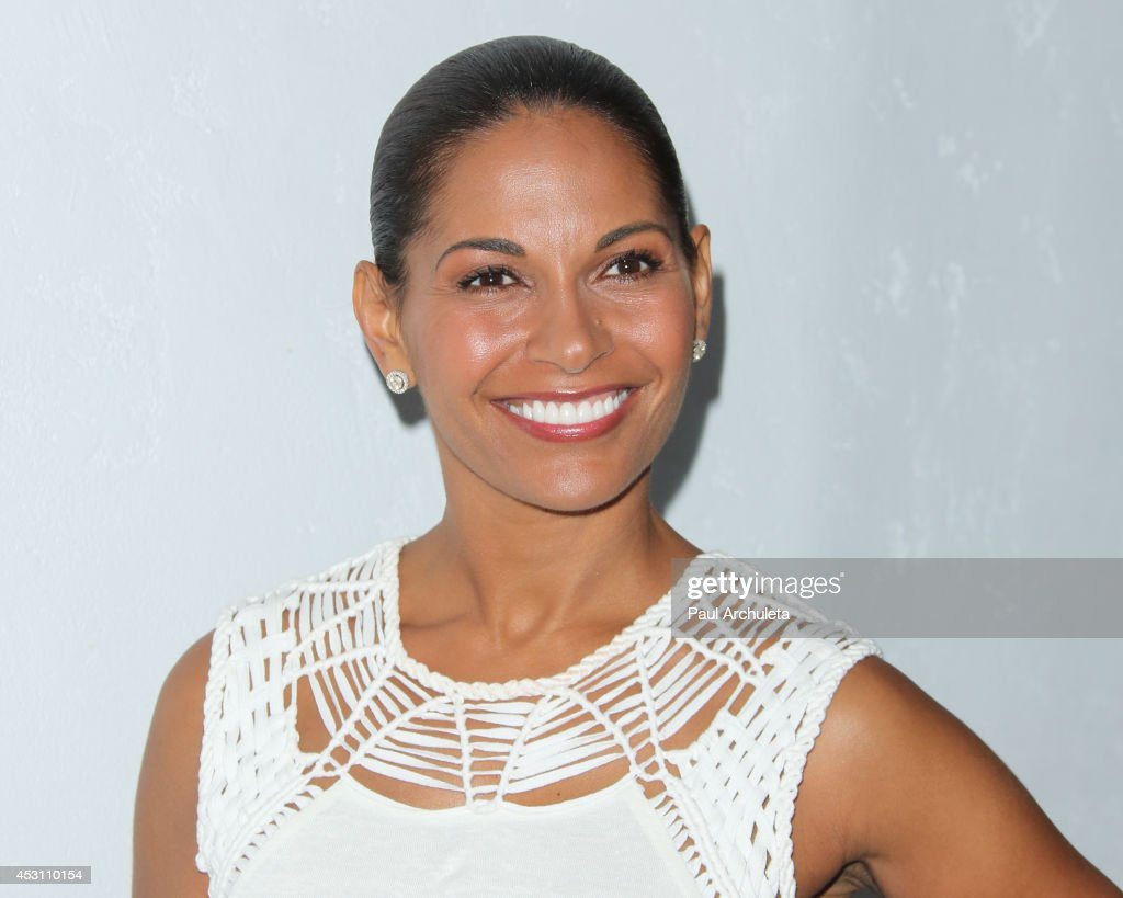 Actress <a gi-track='captionPersonalityLinkClicked' href=/galleries/search?phrase=Salli+Richardson&family=editorial&specificpeople=2717812 ng-click='$event.stopPropagation()'>Salli Richardson</a> attends Vivica A. Fox's 50th birthday celebration at Philippe Chow on August 2, 2014 in Beverly Hills, California.
