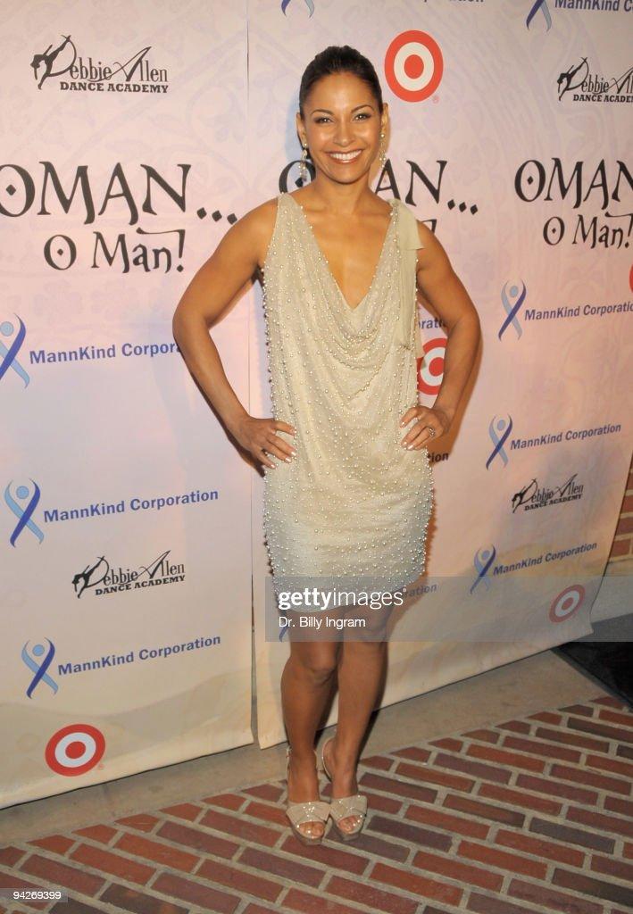 Actress Salli Richardson Whitfield arrives at Debbie Allen's ''OMAN, Oh Man!'' opening night gala at the Royce Hall at UCLA on December 10, 2009 in Westwood, California.