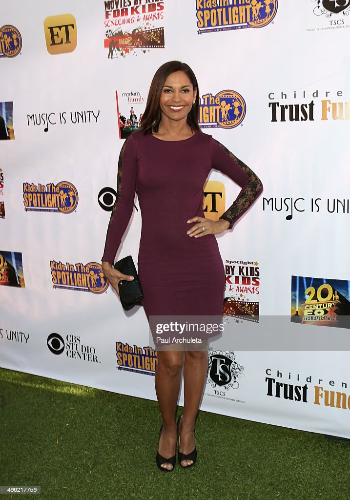 Actress Salli Richardson Whitfield attends the Kids In The Spotlight's Movies By Kids, For Kids Film Awards at Fox Studios on November 7, 2015 in Los Angeles, California.