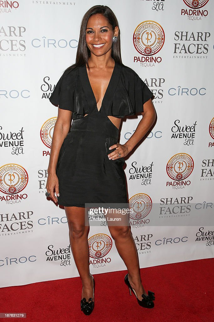 Actress <a gi-track='captionPersonalityLinkClicked' href=/galleries/search?phrase=Salli+Richardson&family=editorial&specificpeople=2717812 ng-click='$event.stopPropagation()'>Salli Richardson</a>-Whitfield arrives at Tommy Davidson's birthday celebration at H.O.M.E. on November 10, 2013 in Beverly Hills, California.
