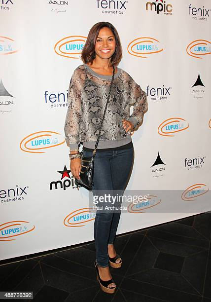 Actress Salli RichardsonWhitfield attends 'Get Lucky For Lupus LA' celebrity poker tournament and party at Avalon on September 16 2015 in Hollywood...