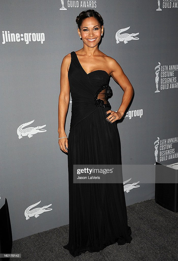 Actress Salli Richardson-Whitfield attends the 15th annual Costume Designers Guild Awards at The Beverly Hilton Hotel on February 19, 2013 in Beverly Hills, California.