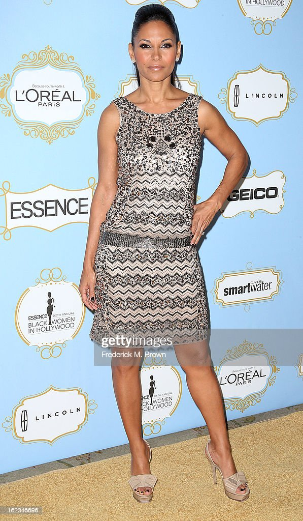 Actress Salli Richardson-Whitfield attends the Sixth Annual ESSENCE Black Women In Hollywood Awards Luncheon at the Beverly Hills Hotel on February 21, 2013 in Beverly Hills, California.