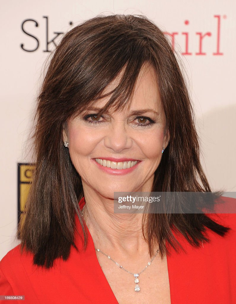 Actress Sally Field arrives at the 18th Annual Critics' Choice Movie Awards at The Barker Hangar on January 10, 2013 in Santa Monica, California.