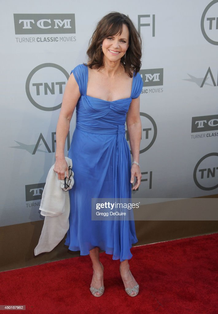 Actress <a gi-track='captionPersonalityLinkClicked' href=/galleries/search?phrase=Sally+Field&family=editorial&specificpeople=206350 ng-click='$event.stopPropagation()'>Sally Field</a> arrives at the 2014 AFI Life Achievement Award Gala Tribute at Dolby Theatre on June 5, 2014 in Hollywood, California.