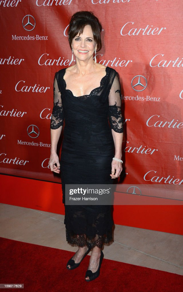 Actress Sally Field arrives at The 24th Annual Palm Springs International Film Festival Awards Gala on January 5, 2013 in Palm Springs, California.