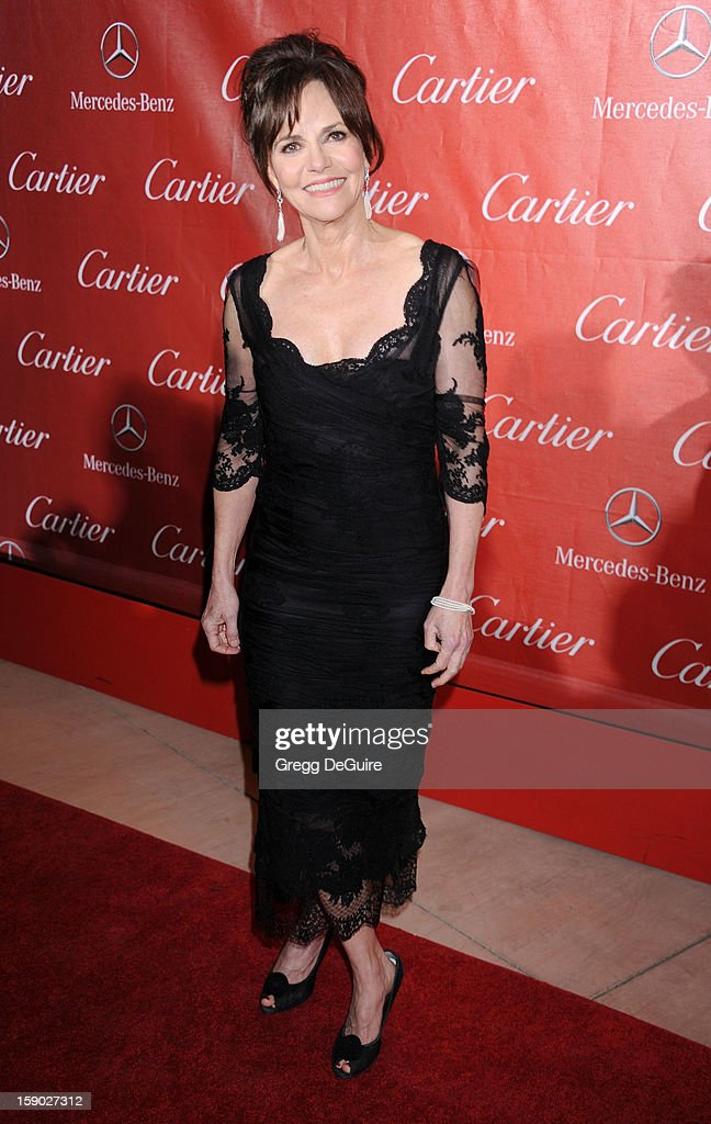 Actress Sally Field arrives at the 24th Annual Palm Springs International Film Festival Awards Gala at Palm Springs Convention Center on January 5, 2013 in Palm Springs, California.