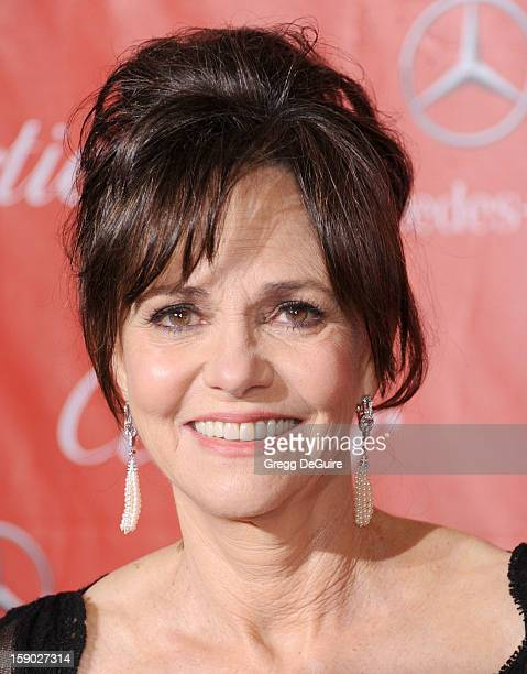 Actress Sally Field arrives at the 24th Annual Palm Springs International Film Festival Awards Gala at Palm Springs Convention Center on January 5...