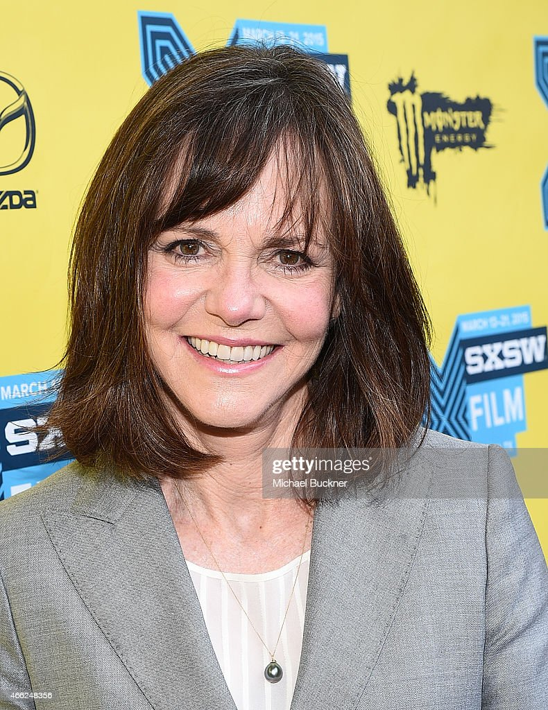 Actress <a gi-track='captionPersonalityLinkClicked' href=/galleries/search?phrase=Sally+Field&family=editorial&specificpeople=206350 ng-click='$event.stopPropagation()'>Sally Field</a> arrives at the premiere of 'Hello, My Name Is Doris' during the 2015 SXSW Music, FIlm + Interactive Festival at Paramount Theatre on March 14, 2015 in Austin, Texas.