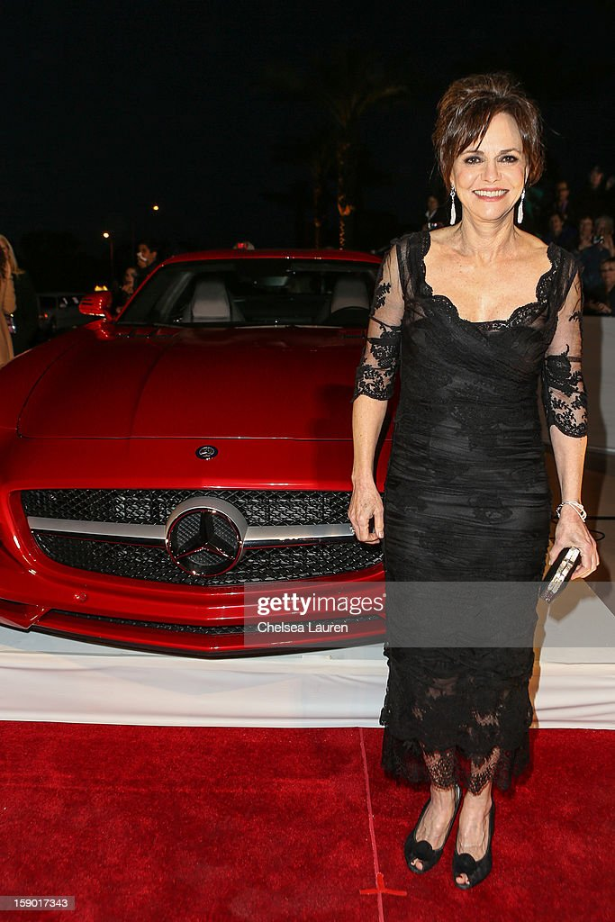 Actress Sally Field arrives in style with Mercedes-Benz at the Palm Springs International Film Festival at the Palm Springs Convention Center on January 5, 2013 in Palm Springs, California.