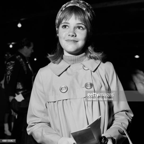 Actress Sally Field attends a party in Los Angeles California