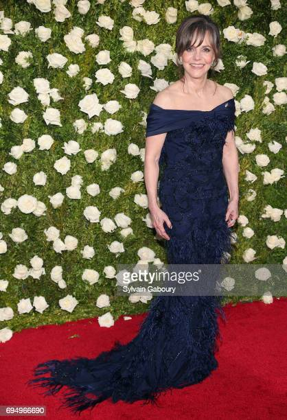 Actress Sally Field attends the 2017 Tony Awards at Radio City Music Hall on June 11 2017 in New York City
