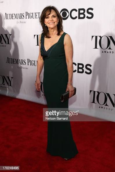Actress Sally Field attends The 67th Annual Tony Awards at Radio City Music Hall on June 9 2013 in New York City