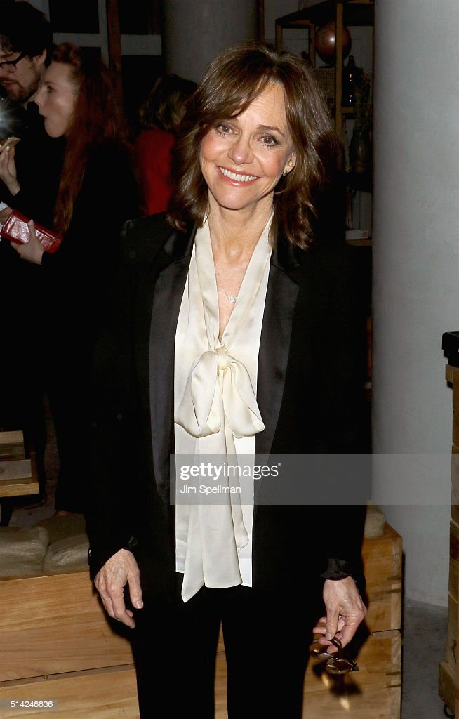 Actress <a gi-track='captionPersonalityLinkClicked' href=/galleries/search?phrase=Sally+Field&family=editorial&specificpeople=206350 ng-click='$event.stopPropagation()'>Sally Field</a> attends the after party for Roadside Attractions with The Cinema Society & Belvedere Vodka New York premiere Of 'Hello, My Name is Doris' at Mr. Purple on March 7, 2016 in New York City.