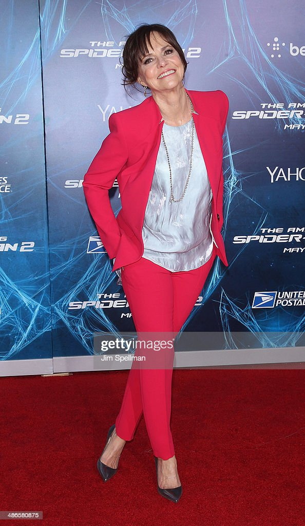 Actress Sally Field attends the 'The Amazing Spider-Man 2' New York Premiere on April 24, 2014 in New York City.