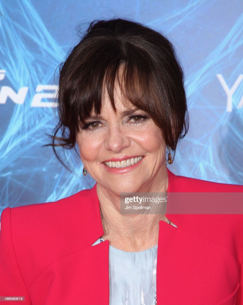 Actress <a gi-track='captionPersonalityLinkClicked' href=/galleries/search?phrase=Sally+Field&family=editorial&specificpeople=206350 ng-click='$event.stopPropagation()'>Sally Field</a> attends the 'The Amazing Spider-Man 2' New York Premiere on April 24, 2014 in New York City.