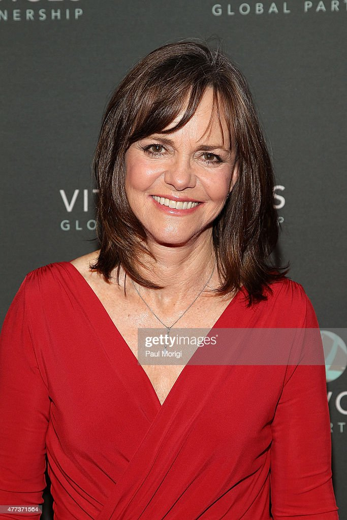 Actress Sally Field attends the Vital Voices 14th Annual Global Leadership Awards at John F Kennedy Center for the Performing Arts on June 16 2015 in...