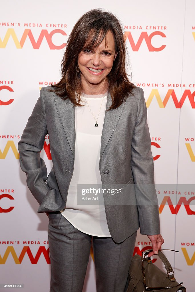 Actress <a gi-track='captionPersonalityLinkClicked' href=/galleries/search?phrase=Sally+Field&family=editorial&specificpeople=206350 ng-click='$event.stopPropagation()'>Sally Field</a> attends The Women's Media Center 2015 Women's Media Awards on November 5, 2015 in New York City.