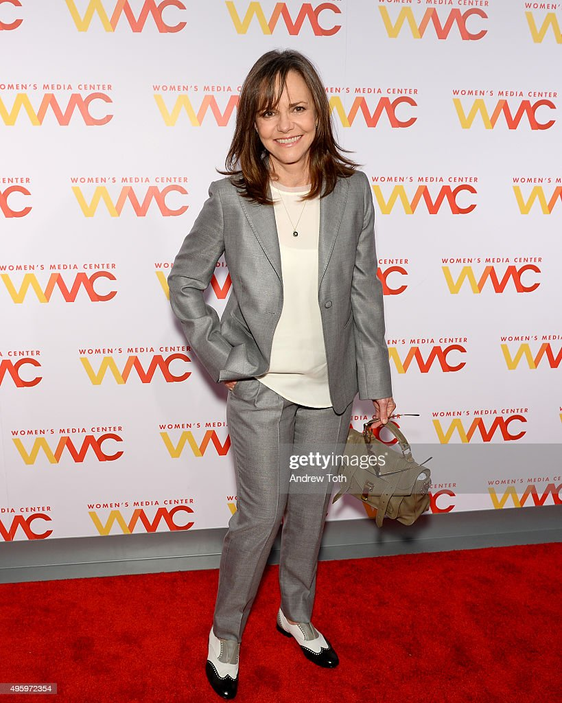 Actress <a gi-track='captionPersonalityLinkClicked' href=/galleries/search?phrase=Sally+Field&family=editorial&specificpeople=206350 ng-click='$event.stopPropagation()'>Sally Field</a> attends The Women's Media Center 2015 Women's Media Awards at Capitale on November 5, 2015 in New York City.