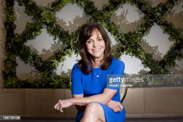 Actress Sally Field is photographed for Los Angeles Times on October 19 2012 in Beverly Hills California