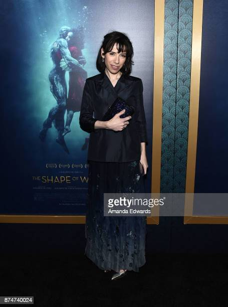 Actress Sally Hawkins arrives at the premiere of Fox Searchlight Pictures' 'The Shape Of Water' at the Academy Of Motion Picture Arts And Sciences on...
