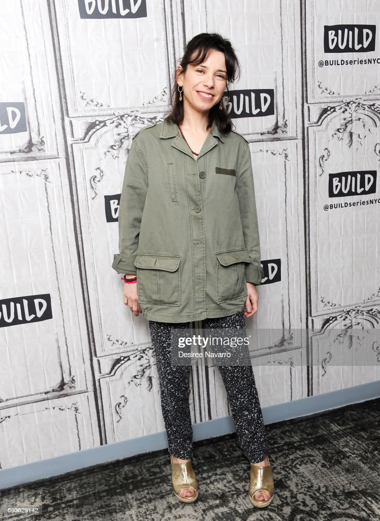 Actress Sally Hawkins attends Build to discuss 'Maudie' at Build Studio on June 7, 2017 in New York City.