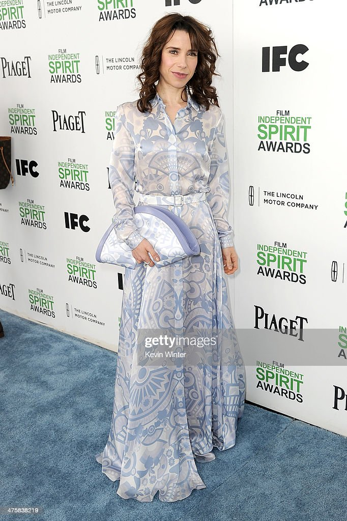 Actress Sally Hawkins attends the 2014 Film Independent Spirit Awards at Santa Monica Beach on March 1, 2014 in Santa Monica, California.