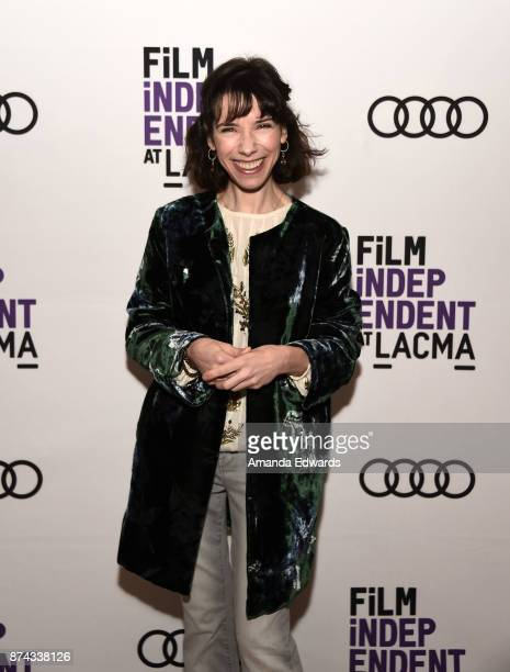 Actress Sally Hawkins attends the Film Independent at LACMA screening and QA of 'The Shape Of Water' at the Bing Theater at LACMA on November 14 2017...