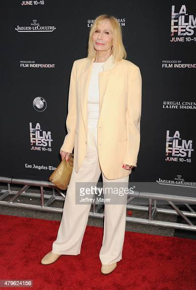 Actress Sally Kellerman attends the opening night premiere of 'Grandma' during the 2015 Los Angeles Film Festival at Regal Cinemas LA Live on June 10...