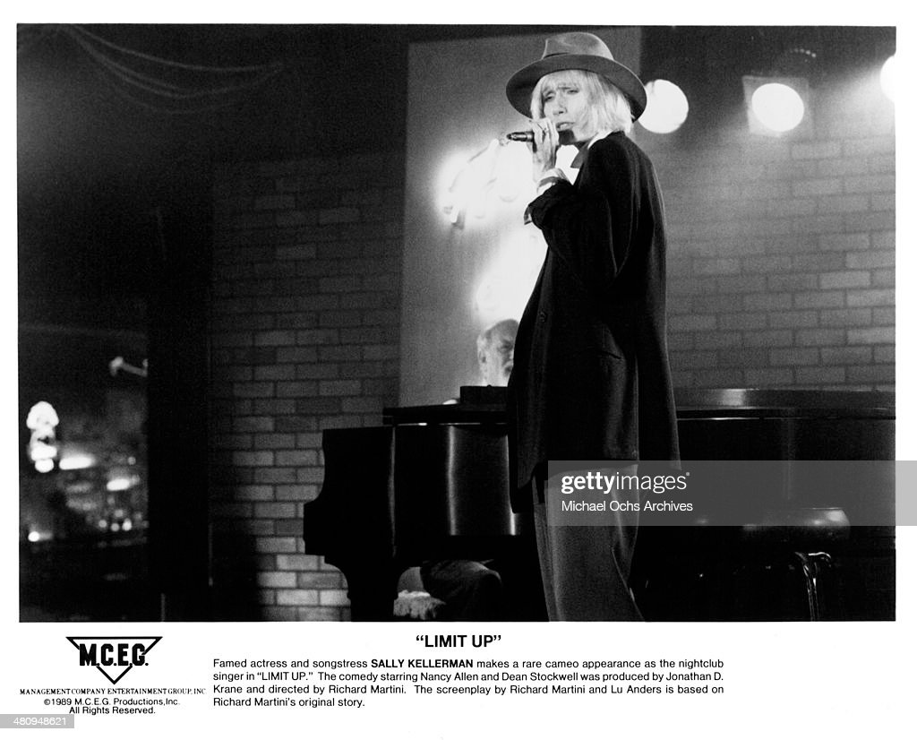 Actress Sally Kellerman in a scene from the movie 'Limit Up' circa 1996