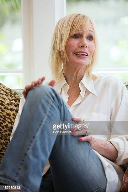 Actress Sally Kellerman is photographed in her home for Los Angeles Times on April 22 2013 in Los Angeles California PUBLISHED IMAGE BYLINE MUST READ...