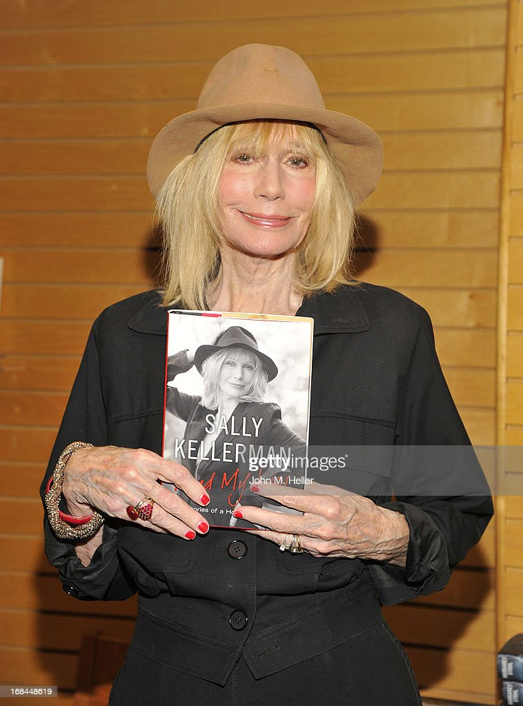 Actress Sally Kellerman signs copies of her new book 'Read My Lips Stories of a Hollywood Life' at the Barnes Noble 3rd Street Promenade on May 9...