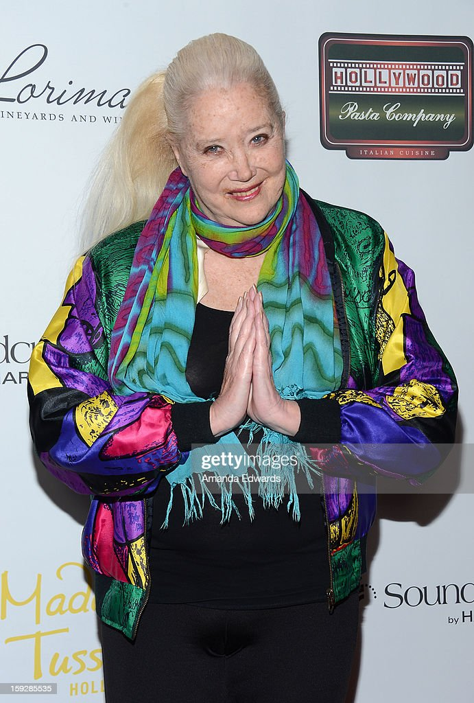 Actress <a gi-track='captionPersonalityLinkClicked' href=/galleries/search?phrase=Sally+Kirkland&family=editorial&specificpeople=206468 ng-click='$event.stopPropagation()'>Sally Kirkland</a> arrives at the Hooray For Hollywood...High Gala at the El Capitan Theatre on January 10, 2013 in Hollywood, California.